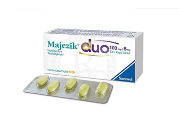 MAJEZIK DUO 100 MG/8 MG 15 FILM KAPLI TABLET