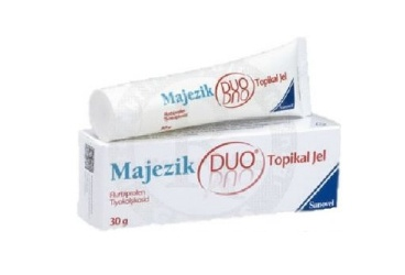 MAJEZIK DUO % 5+%0.25 TOPIKAL JEL 50 G