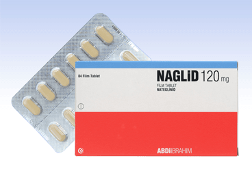 NAGLID 120 MG 84 TABLET