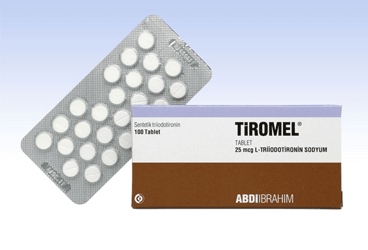 TIROMEL 25 MCG 100 TABLET